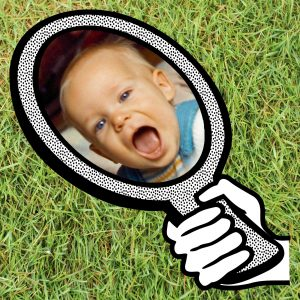 Mein Kind mein Spiegel Wiese